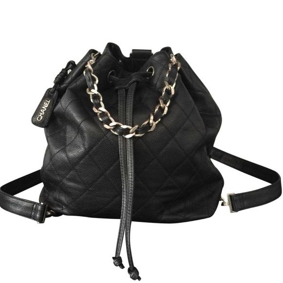 CHANEL Handbags - Coming soon ❤️chanel drawstring caviar backpack 😍